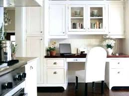 kitchen cabinet desk ideas kitchen desks ideas krepim club