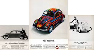 volkswagen ddb think small u201d advertising campaign visual rhetoric