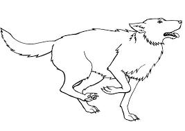running prey wolf coloring download u0026 print