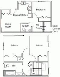 Up Down Duplex Floor Plans Duplex Housing La Crosse County Housing Authority