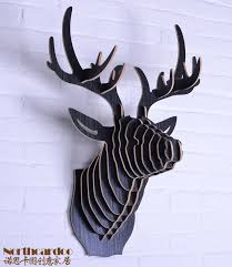 wooden animal wall 16 best wall wood images on woodworking stag