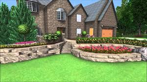 Home And Yard Design Software Landscape Design 3d Walkthrough Front Yard Landscaping Canyon