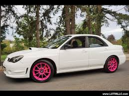 subaru wrx turbo location 2006 subaru impreza wrx turbo white sparco wheels for sale in