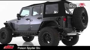 spyder jeep poison spyder youtube
