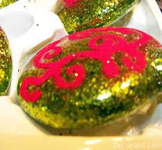 personalized glitter ornaments 2 the grant