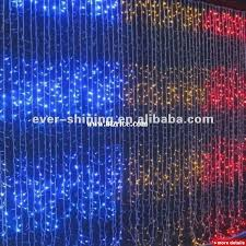 Curtain Christmas Lights Indoors Curtain Christmas Tree Lights Decorate The House With Beautiful