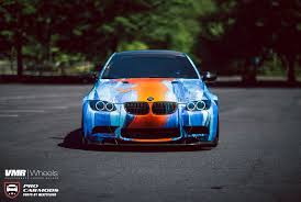 Bmwe92 Bmw E92 M3 Combines Water And Fire With Outlandish Wrap