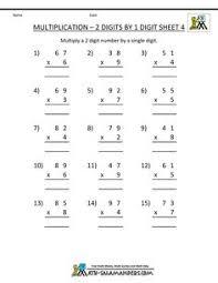 hard multiplication 2 digit problems multiplication sheets u2013 2