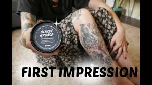 lush elbow grease for tattoos first impression and demo youtube