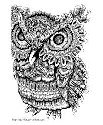 100 free coloring pages of owls free printable coloring pages