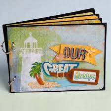 vacation photo albums vacation mini album favecrafts