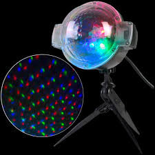 applights led projection snowflurry 49 programs stake light 39109