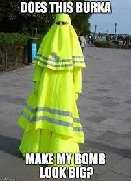 Burka Meme - muslim lollipop lady imgflip
