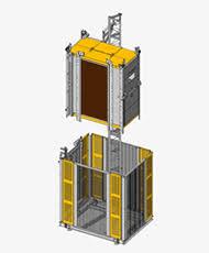 ascensore a cremagliera ascensori montacarichi piattaforme di trasporto da cantiere
