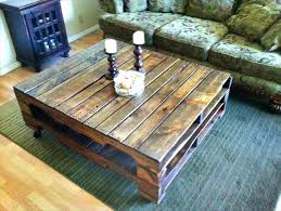 Diy Wooden Table Top by Homemade Wood Coffee Table U2013 Thelt Co