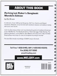amazon com parking lot picker u0027s songbook mandolin 9780786674923