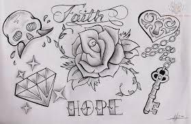 diamond and rose tattoo design rose tattoo design art flash
