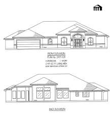4 room house plan no 2471 1211