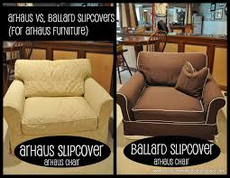 slipcovers arhaus vs ballard evolution of style ballard