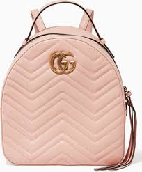 light pink leather backpack gucci light pink gg marmont quilted leather backpack price in dubai