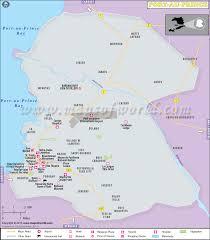 map port port au prince map map of port au prince city haiti