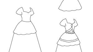 simple drawing of princess easy cinderella princess drawing step
