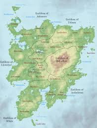Narnia Map The Main Settlement Of Mercy A