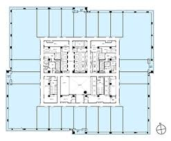 Scale Floor Plan Floor Plan Otemachi Financial City Grand Cube Mitsubishi