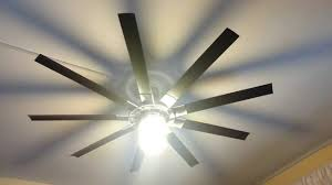 a ceiling fan with 16 in blades harbor breeze 72 in 9 blade slinger ceiling fan youtube