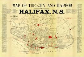 Map Of Nova Scotia Once Upon A Tram The Halifax Street Railway Skyrisecities