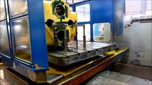 cnc table type boring and milling machine rem 125 fanuc 31i new