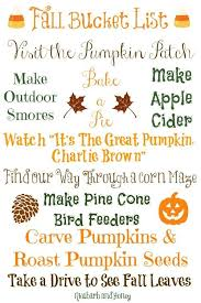 108 best fall bucket list printables images on pinterest fall