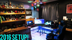 Gaming Setups Insane Gaming Setup 2017 Vidkid428 Youtube