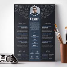 design resume templates 23 free creative resume templates with cover letter freebies