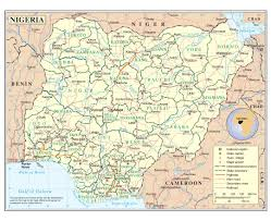 State Capitol Map by Maps Of Nigeria Detailed Map Of Nigeria In English Tourist Map