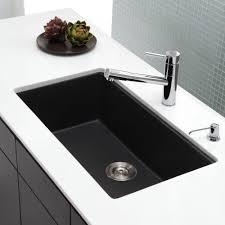 modern kitchen black kitchen sinks cool stainless steel undermount sink black single