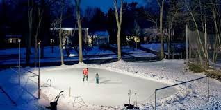 How To Make A Skating Rink In Your Backyard Backyard Ice Skating Rink Diy Hockey Rink