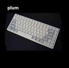 Keyboard Mechanical plum 84 electro capacitive keyboard mechanical keyboard with rgb or