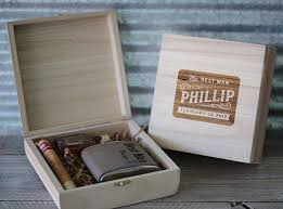 wooden groomsmen gifts groomsmen cigar box engraved wood cigar box groomsmen gifts