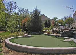 Backyard Putting Green Designs by Backyard Putting Green Houzz