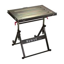diy portable welding table strong hand tools nomad welding table model ts3020 arc welding