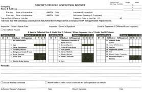 daily inspection report template log trip inspection books bcta