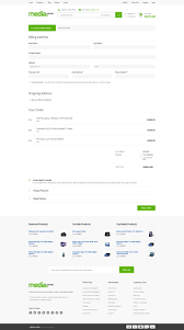 Free Cheque Template Media Center Electronic Ecommerce Psd Template By Bcube