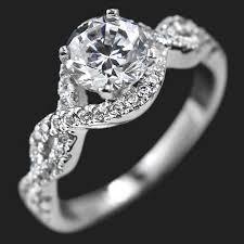 infinity engagement rings infinity engagement ring miadonna