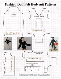 halloween computer paper sew a bodysuit for your dolls u0027 halloween cat costume w this