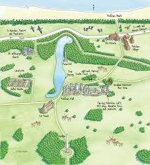 estate map holkham park map education holkham and estate norfolk