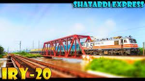indian railways extra special shatabdi express iry 20 leisurely
