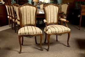 Dining Room Chair Styles Set Of Six Side French Dining Room Chairs Style Of Linke For Sale