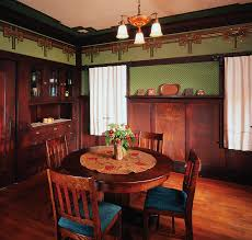 arts and crafts homes interiors arts and crafts bungalow interiors arts crafts dining room