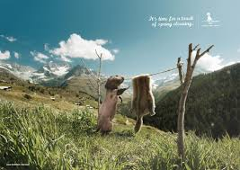 mountain riders print advert by publicis spring cleaning ads of